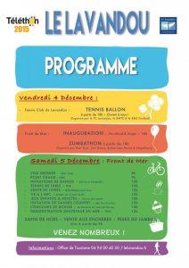 Téléthon 2016 - 04-12-16 - Flyer